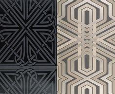 Art Deco Design Motifs   Papiers peints Art déco: Tapeten der 70er