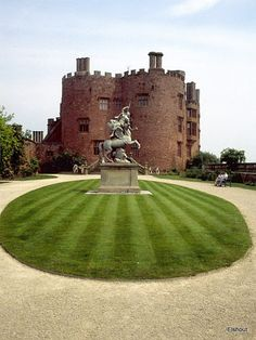 Powis Castle (Welsh: Castell Powis) near the town of Welshpool in Powys, Mid Wales.