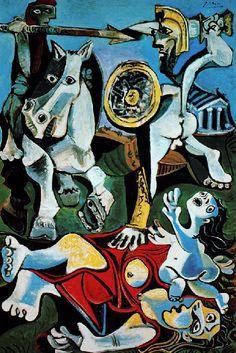 Picasso -L'enlèvement des Sabines