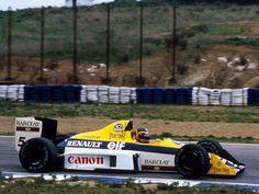 1989 Jerez de la Frontera Canon Williams FW12C Thierry Boutsen