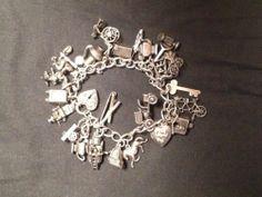 100 Genuine Walter Lampl Charm Bracelet | eBay
