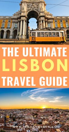 Where to stay, what to do, where to eat, and what NOT to miss in Lisbon. A comprehensive guide on the best things to do in Lisbon, Portugal. #jenontherun #portugal #lisbon #visitportugal