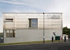 London youth centre by RCKa features translucent polycarbonate facade