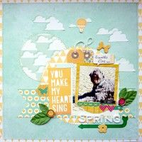 A Project by AnkeKramer from our Scrapbooking Gallery originally submitted 04/16/13 at 11:13 AM
