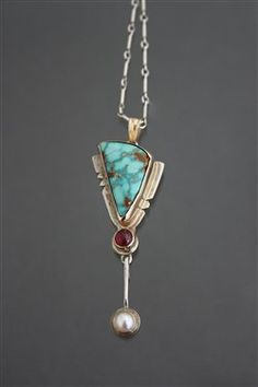 Turquoise Pendant - Media - Jewelry Making Daily