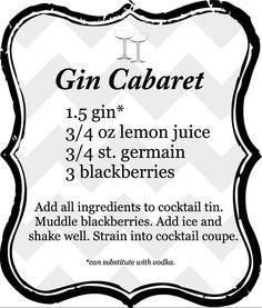love st. germain & gin!!!