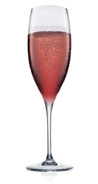 Absolut Champagne Cosmo  Add Absolut Citron and Cranberry Juice to Champagne