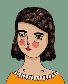 Personal Illustrations by Angie Garland, via Behance