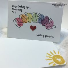 Stampin' Up! Over The Rainbow http://stampsnlingers.com/2015/11/21/stampin-up-over-the-rainbow-for-super-simple-single-stamp-saturday/