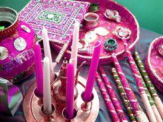 A bespoke Asian mehndi party.  www.fuschiadesigns.co.uk.