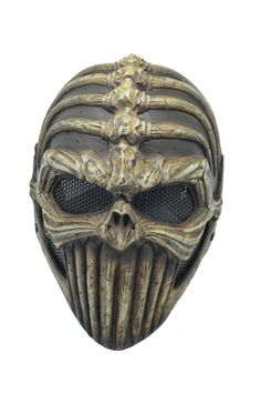 Airsoft Full Wire Mesh Protection Spine Tingler Skull Mask