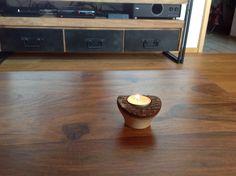 Teelicht gedrechselt aus ( Tulpenbaum ) aus Grafrath