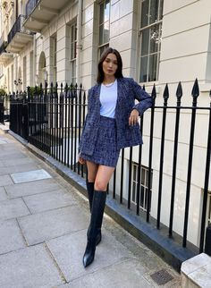 New York Outfits, Paris Outfits, Fall Outfits, Blazer Outfits For Women, Classy Outfits, Cute Outfits, Beautiful Outfits, Classy Business Outfits, Pretty Outfits