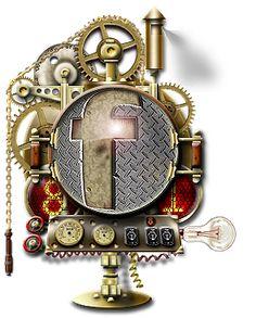 Steampunk Facebook Icon MkV