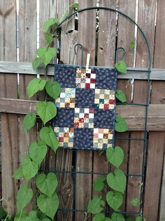 CIVIL WAR Reproduction QUILT Traditional Patchwork Quilted