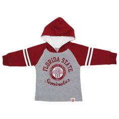 Florida State Seminoles Preschool Raglan Pullover Hoodie – Gray - $34.99