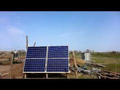 Солнечная электростанция 1кВт для дома на ферме. 1. - YouTube