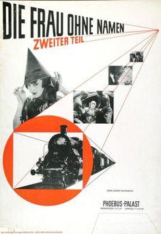 Die Frau ohne Namen - Zweiter Teil - Phoebus-Palast-Plakat Gestaltung: Jan Tschichold 1927