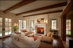 rustic chic living rooms - Google Search