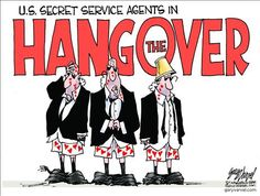 Hangover III, starring the US Secret Service