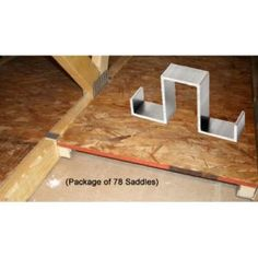 Infinite Attic The Infinite Attic Storage System–Creates 192 square feet of storage (78 Saddles)
