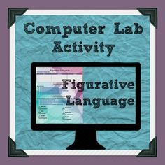 Figurative Language Computer Lab Activity