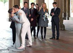 Blair Waldorf's Wedding Dress With Chuck Bass