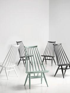 Mademoiselle Louge Chair by designer Ilmari Tapiovaara, year: 1956 for Artek