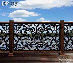 Metal Railings, Deck Railings, Stair Railing, Balcony Railing Design, Staircase Design, Iron Staircase, Balcon Juliette, Lattice Screen, Juliet Balcony