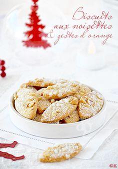 Alter Gusto | Biscuits aux noisettes Corses & zestes d'orange pour mon ami Eugène…