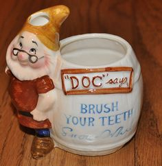 Disney Doc  Toothbrush Holder