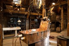 Frankenstein Laboratory Set Design | PENNY DREADFUL for Best Production Design/Set Decoration
