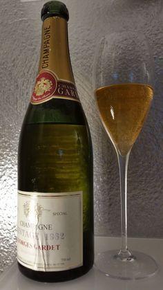 Champagne Gardet 1962 Bottle, Champagne, Threading, Drinking, Flask, Jars