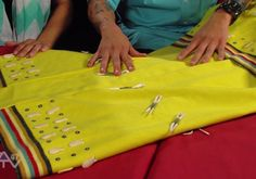Making Regalia – Straight Dress Making