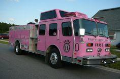 Chase Pink Truck, Fire Trucks, Cherokee, Police, Fire Engine, Law Enforcement, Fire Truck, Cherokee Language
