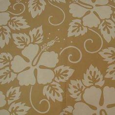 Ibisco Flower Bege - Larmod - Tecidos e Acessórios para Decoração