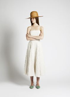 Sun Hat and Rashida Dress | Samuji SS14 Seasonal Collection