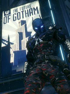 I don't know if is batman, slade or batman beyond. Nightwing, Batgirl, Dc Comics Art, Marvel Dc Comics, Red Hood Jason Todd, Knight Games, Univers Dc, Batman Arkham Knight, Red Hood