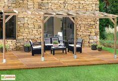 pergola en bois trait autoclave sans couverture 3x4 9 pergolas. Black Bedroom Furniture Sets. Home Design Ideas