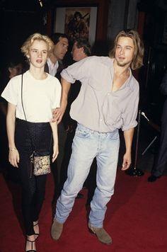 back to 1992 - kalifornia. Brad Pitt and Juliette Lewis