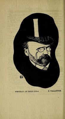 Portrait of Émile Zola, by Felix Vallotton.
