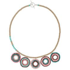 You Spin Me Right Round Necklace | Fusion Beads Inspiration Gallery