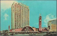 Vintage Postcard of The Mint Hotel in Las Vegas, Nevada