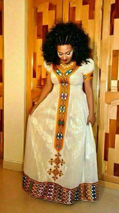 New Ethiopian Traditional Dress 2017 Ethiopian Traditional Dress Pinterest Traditional