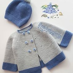 Baby Boy Knitting Patterns, Baby Sweater Patterns, Baby Sweater Knitting Pattern, Knit Baby Sweaters, Baby Patterns, Easy Crochet Hat, Crochet Toddler, Crochet Baby Clothes, Baby Pullover