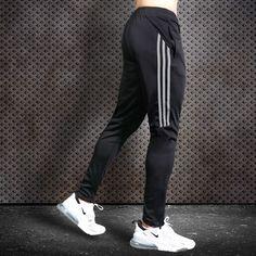 Sport Pants Men Running Pants With Zipper Pockets Training and Joggings Men Pants Soccer Pants Fitness Pants For Men - black gray, - & Soccer Pants, Sport Pants, Men Pants, Running Pants, Soccer Training, Athletic Pants, Courses, Workout Pants, Sweatshirts