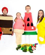 The Very Hungry Caterpillar Homemade Family Costume and a zillion other costume ideas at 'Costume Works'
