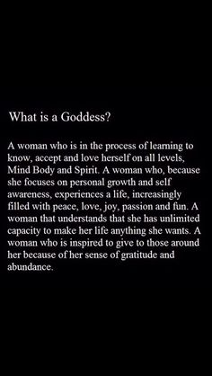 I love being called a Goddess 😘 What Is A Goddess, Divine Goddess, New Age, Goddess Quotes, This Is Your Life, Encouragement, Think, Divine Feminine, Sacred Feminine