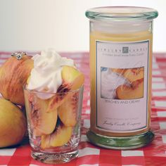 Peaches And Cream Jewelry Candle