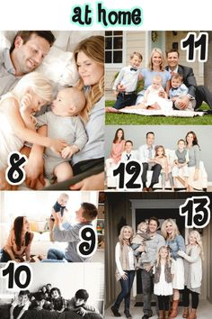 101 family portrait ideas